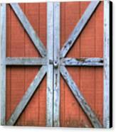 Barn Door 3 Canvas Print by Dustin K Ryan