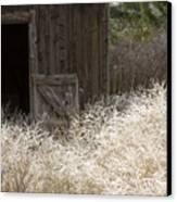 Barn Door Canvas Print by Idaho Scenic Images Linda Lantzy
