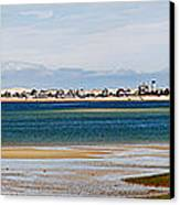 Barnstable Harbor Panorama Canvas Print by Charles Harden