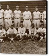 Baseball: Negro Leagues Canvas Print by Granger