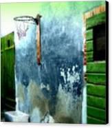 Basketball Court Canvas Print by Funkpix Photo Hunter