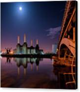 Battersea Power Station Canvas Print by Vulture Labs