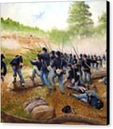 Battle Of Utoy Creek Canvas Print by Marc Stewart