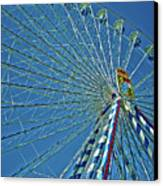 Bavarian Fairy Wheel Canvas Print by Juergen Weiss