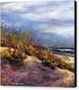 Beach Dune 1 Canvas Print by Peter R Davidson