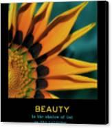 Beauty Canvas Print by Bonnie Bruno