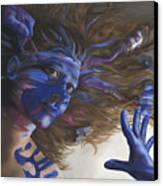 Being Art Canvas Print by Katherine Huck Fernie Howard