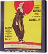 Bertram Mills Circus Poster Canvas Print by Dudley Hardy