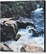 Betws-y-coed Waterfall Canvas Print by Harry Robertson
