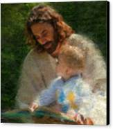Bible Stories Canvas Print by Greg Olsen