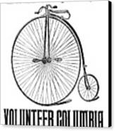 Bicycle Advertisement, 1888 Canvas Print by Granger
