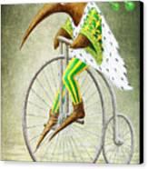 Bicycle Canvas Print by Lolita Bronzini