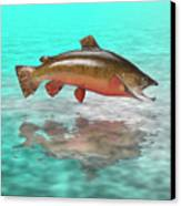 Big Fish Canvas Print by Jerry McElroy