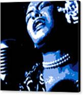 Billie Holiday Canvas Print by DB Artist