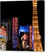 Bills Ballys And Paris Canvas Print by Andy Smy