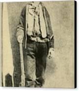Billy The Kid 1859-81, Killed Twenty Canvas Print by Everett