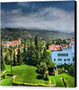 Birdseye View Of Santa Barbara I Canvas Print by Steven Ainsworth