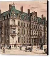 Birmingham And Midland Eye Hospital United Kingdom 1882 Canvas Print by Payne and Talbot