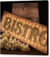 Bistro Still Life IIi Canvas Print by Tom Mc Nemar