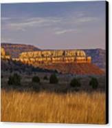 Black Mesa Sunrise Canvas Print by Charles Warren