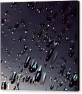 Black Rain Canvas Print by Steven Milner