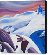 Black Tusk Sunrise Canvas Print by Ginevre Smith