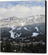 Blackcomb Mountain Canvas Print by Pierre Leclerc Photography