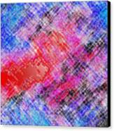 Bleeding Soul Canvas Print by Cristophers Dream Artistry