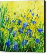 Blue Bells  Canvas Print by Pol Ledent
