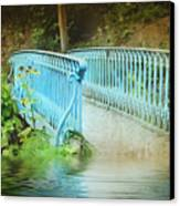 Blue Bridge Canvas Print by Svetlana Sewell