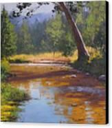 Blue Mountains Coxs River Canvas Print by Graham Gercken
