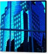 Blue Reflections ... Canvas Print by Juergen Weiss