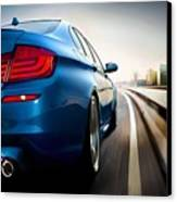 BMW Canvas Print by Lanjee Chee