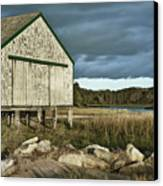 Boathouse Canvas Print by John Greim