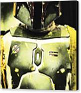 Boba Fett Canvas Print by Micah May