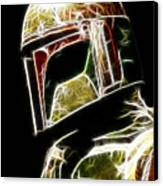 Boba Fett Canvas Print by Paul Ward