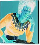 Bobbi Canvas Print by Jean Hildebrant