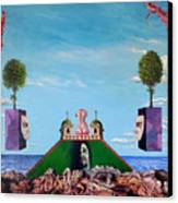Bogomils Monastic Retreat Canvas Print by Otto Rapp