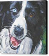 Border Collie Canvas Print by Lee Ann Shepard