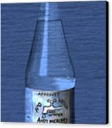 Bouteille De L'eau Canvas Print by Andy  Mercer