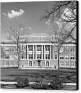 Bowling Green State University Hall Canvas Print by University Icons