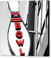Bowling Canvas Print by Steven  Michael