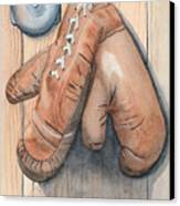 Boxing Gloves Canvas Print by Ken Powers