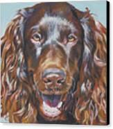 Boykin Spaniel Canvas Print by Lee Ann Shepard