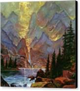 Breaking Sunlight Canvas Print by David Lloyd Glover