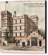 Brigade Depot Oxford England 1880 Canvas Print by Ingrefs Bell