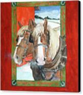 Bright Spirits Canvas Print by Christie Michelsen