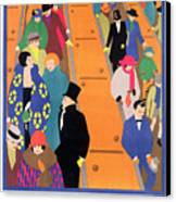 Brightest London Is Best Reached By Underground Canvas Print by Horace Taylor