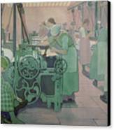 British Industries - Cotton Canvas Print by Frederick Cayley Robinson