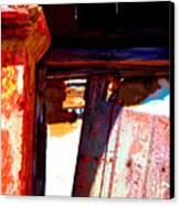 Broken Door By Michael Fitzpatrick Canvas Print by Mexicolors Art Photography